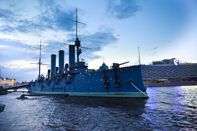 Большая обзорная экскурсия по Санкт-Петербургу с посещением крейсера «Аврора»