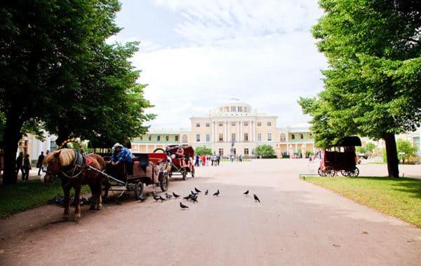 Экскурсия в Павловск (Павловский дворец)