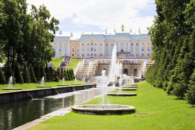 Экскурсия в Петергоф (Большой дворец+фонтаны)