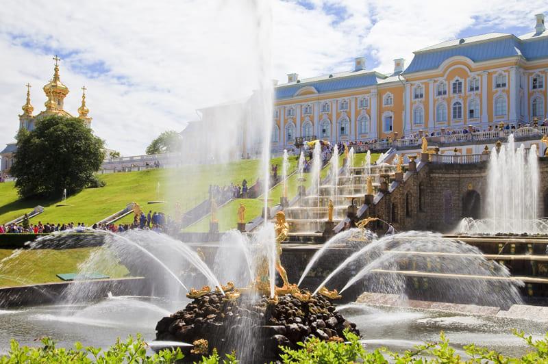 Петергоф (парк, фонтаны)