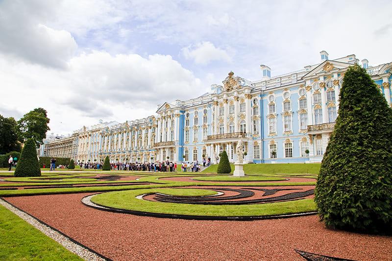 Экскурсии в Пушкин (Екатерининский парк и Дворец, Янтарная комната)