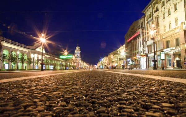 Экскурсия по ночному Санкт-Петербургу