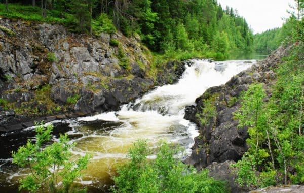 Водопады и каньоны Карелии, 2 дня