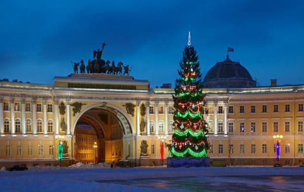 Новогодний Петербург 2020