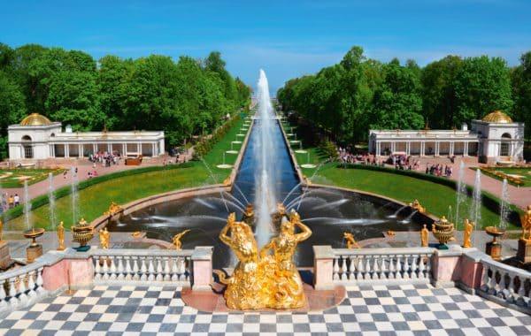 Экскурсия в Петергоф с посещением Большого Императорского Дворца