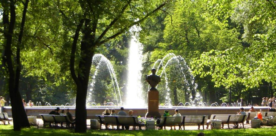 Самые красивые парки Петербурга.  Часть 1.  Популярные маршруты.